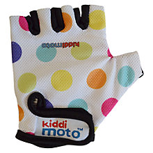 Buy Kiddimoto Dotty Gloves, Pastel, Small Online at johnlewis.com