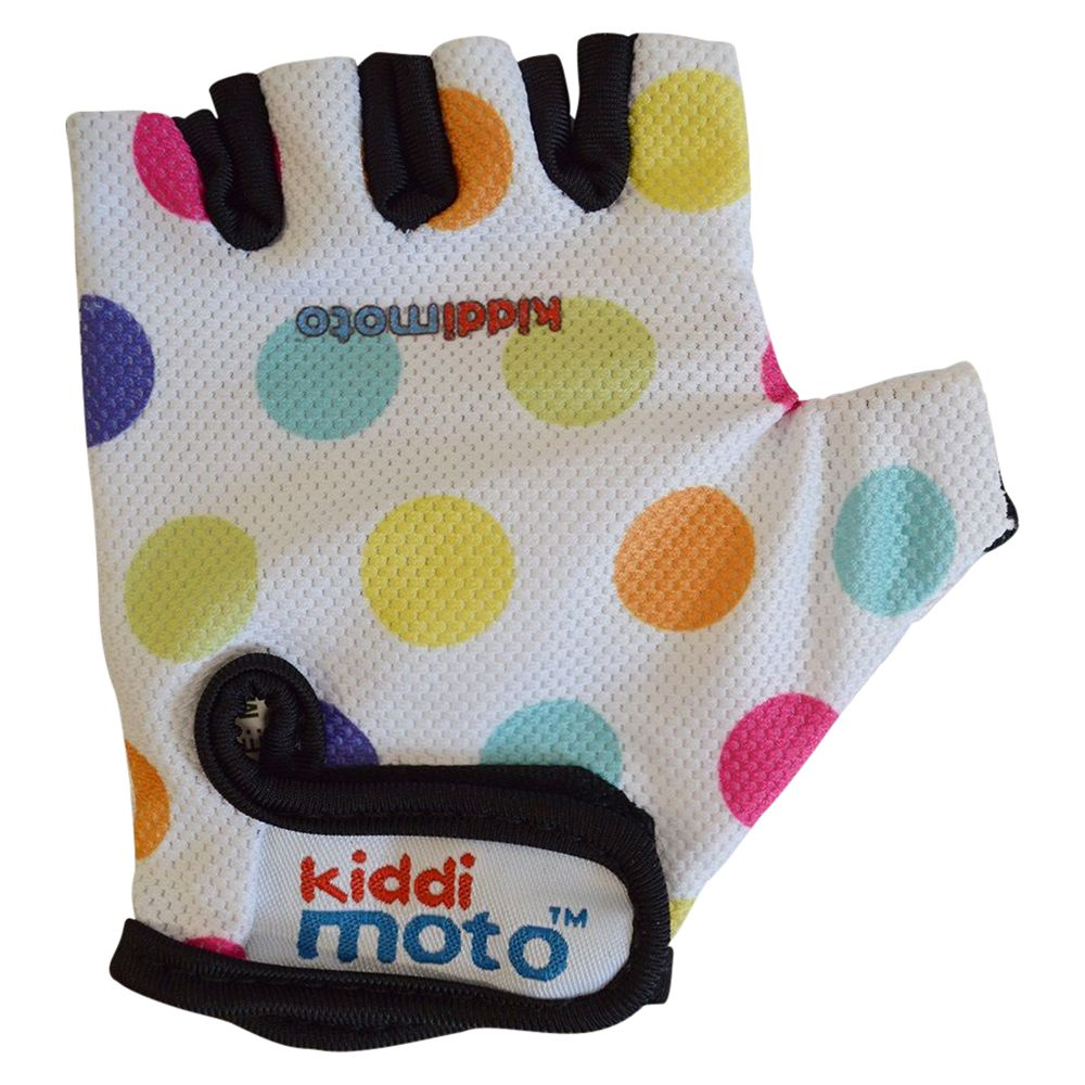 Kiddimoto Kiddimoto Dotty Gloves, Pastel, Small