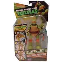 Buy Teenage Mutant Ninja Turtles Mutations Michelangelo Online at johnlewis.com