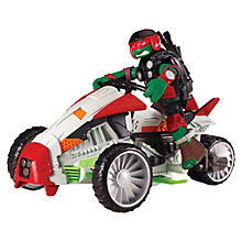 Buy Teenage Mutant Ninja Turtles Tri Flyer Vehicle Raph Online at johnlewis.com