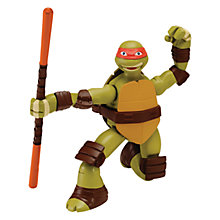 Buy Teenage Mutant Ninja Turtles Ninja Action Ninja Strikin' Mike Online at johnlewis.com