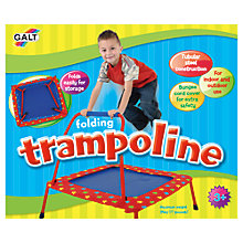 Buy Galt Folding Trampoline Online at johnlewis.com