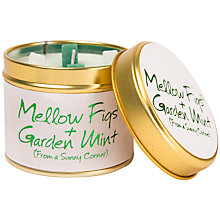 Buy Lily-Flame Fig and Mint Scented Candle Tin Online at johnlewis.com
