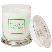 Buy Lily-Flame Fig and Mint Glass Candle Jar Online at johnlewis.com