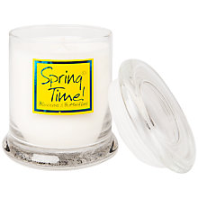Buy Lily-Flame Springtime Glass Candle Jar Online at johnlewis.com