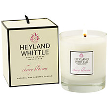 Buy Heyland & Whittle Cherry Blossom Candle Online at johnlewis.com