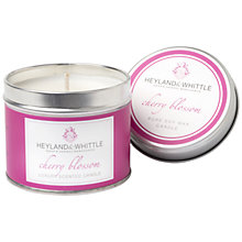 Buy Heyland & Whittle Cherry Blossom Candle Tin Online at johnlewis.com