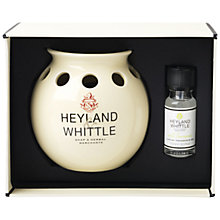 Buy Heyland & Whittle Wild Lemongrass Oil Burner & Fragrance Gift Set Online at johnlewis.com