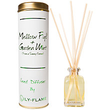 Buy Lily-Flame Fig and Mint Diffuser, 100ml Online at johnlewis.com