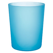 Buy John Lewis Frosted Plastic Wastepaper Bin, 3L Online at johnlewis.com