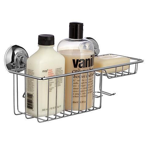 Buy john lewis multi function bathroom suction storage for Bathroom storage ideas john lewis
