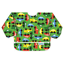 Buy Bumkins On The Go Bib, Green Online at johnlewis.com