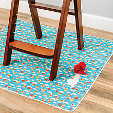 Buy Hippychick Bumkins Winnie The Pooh Splat Mat, Blue/Multi Online at johnlewis.com