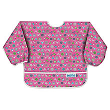 Buy Bumkins Love Birds Bibs, Pink Online at johnlewis.com