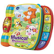 Buy VTech Musical Rhymes Book Online at johnlewis.com