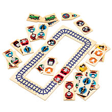 Buy Thomas & Friends Wooden Dominoes & Track Puzzle Online at johnlewis.com