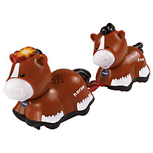 Buy VTech Baby Toot-Toot Animals Mummy & Baby Horse Online at johnlewis.com
