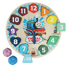 Buy Thomas & Friends Wooden Clock Game Online at johnlewis.com