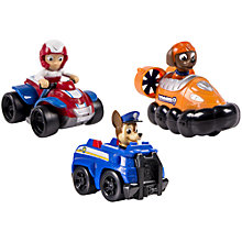 Buy Paw Patrol Racers Team Pack: Chase, Zuma, Skye Online at johnlewis.com