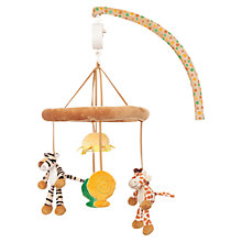Buy Teddykompaniet Giraffe and Tiger Mobile Online at johnlewis.com