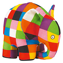 Buy Elmer Elephant Toy, Large Online at johnlewis.com
