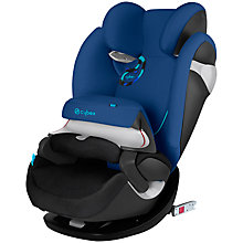 Buy Cybex Pallas M-Fix Group 1/2/3 Car Seat, Blue Online at johnlewis.com