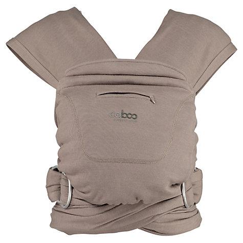Buy Close Parent Caboo Organic Baby Carrier John Lewis