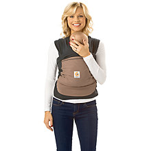 Buy Ergobaby Wrap Baby Carrier, Brown Online at johnlewis.com