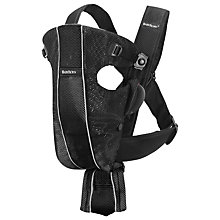 Buy BabyBjörn Original Mesh Baby Carrier, Black Online at johnlewis.com