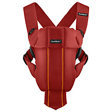 Buy BabyBjörn Original Baby Carrier, Orange Online at johnlewis.com