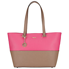 Buy DKNY Bryant Park Saffiano Leather Shopper, Multi Online at johnlewis.com
