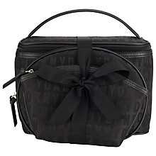 Buy DKNY HQ Leather Travel Set, Black Online at johnlewis.com