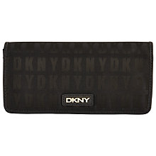 Buy DKNY HQ Print Saffiano Leather Large Carry All Purse, Black Online at johnlewis.com