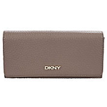 Buy DKNY Tribeca Leather Large Carryall Purse, Desert Online at johnlewis.com