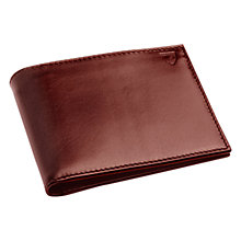 Buy Aspinal of London Leather Large ID Wallet, Cognac Online at johnlewis.com