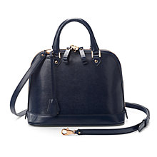 Buy Aspinal of London Mini Hepburn Saffiano Leather Across Body Bag Online at johnlewis.com