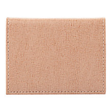 Buy Aspinal of London Leather ID & Travel Card Case, Deer Online at johnlewis.com