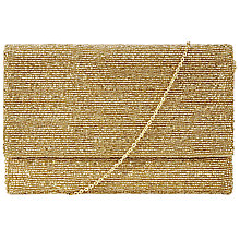 Buy John Lewis 100's & 1000's Clutch Bag, Gold Online at johnlewis.com
