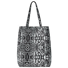 Buy Collection WEEKEND by John Lewis Mono North South Tote Bag, Snake Online at johnlewis.com