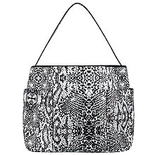 Buy Collection WEEKEND by John Lewis Mono Slouch Tote Bag, Snake Online at johnlewis.com