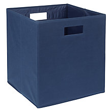 Buy House by John Lewis Square Folding Storage Box Online at johnlewis.com