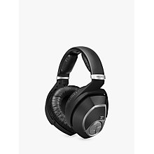 Buy Sennheiser RS195 On-Ear Personal Hearing RF Wireless Headphones, Black Online at johnlewis.com