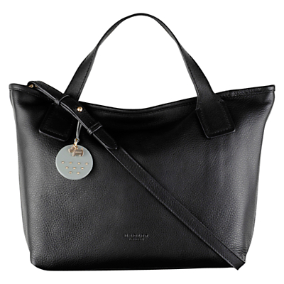 Radley Battersea Leather Multiway Grab Bag, Black