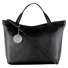 Buy Radley Battersea Leather Multiway Grab Bag, Black Online at johnlewis.com