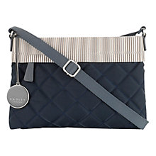 Buy Radley Claremont Hill Small Across Body Bag, Navy Online at johnlewis.com
