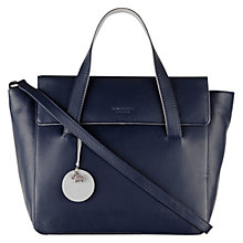 Buy Radley Kew Medium Multiway Leather Grab Bag, Navy Online at johnlewis.com
