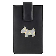 Buy Radley Heritage Dog iPhone Case, Black Online at johnlewis.com