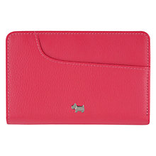 Buy Radley Pocket Bag Medium Leather Zip Purse, Pink Online at johnlewis.com