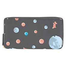Buy Radley Elliot Vale Large Zip Purse, Grey Online at johnlewis.com