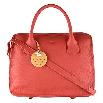 Radley Bickley Leather Multiway Bag, Orange